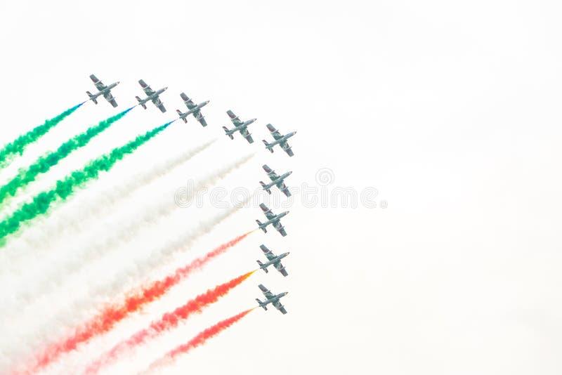 Zeltweg, Austria / Austria- SEPTEMBER 06 2019: Airpower 2019, air show stock photo