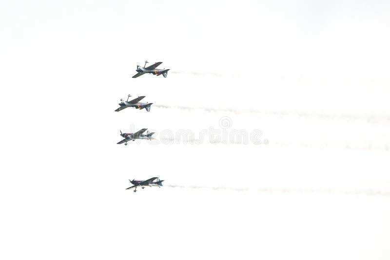 Zeltweg, Austria / Austria- SEPTEMBER 06 2019: Airpower 2019, air show stock photos