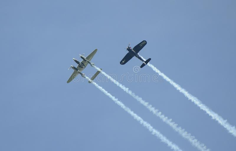 Airshow, Airpower 16, stock image