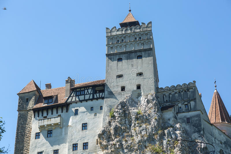 Zemelenkasteel - het Kasteel van Dracula s stock afbeelding