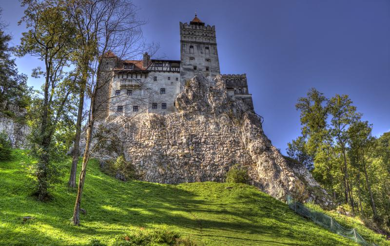 Zemelenkasteel - Huis van Dracula stock afbeeldingen
