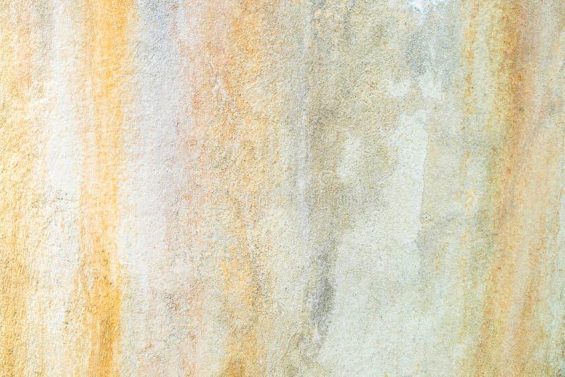 Zement-befleckter Hintergrund und Farbe auf backdroup lizenzfreie stockfotografie