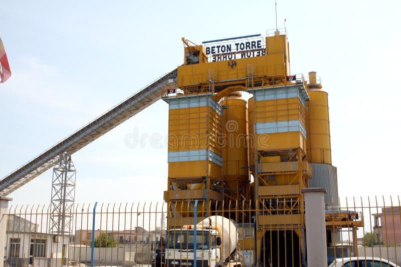 Zement-Betonarbeiten lizenzfreie stockfotos
