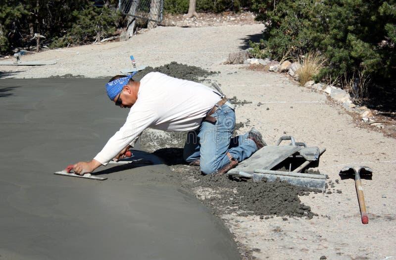 Zement-EBB lizenzfreies stockbild