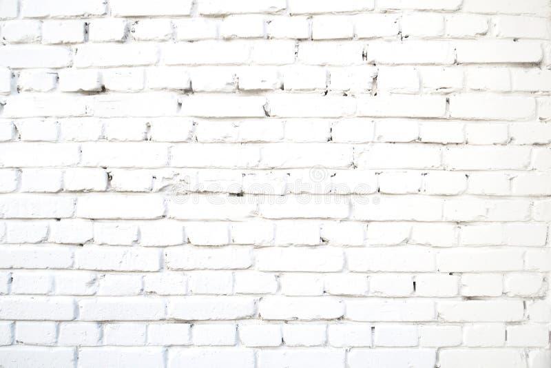 Zement-Schmutzhintergrund der weißen Backsteinmauerzusammenfassung konkreter alter stock abbildung