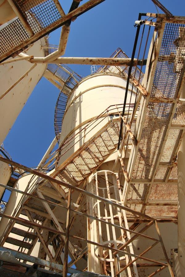 Zementindustrie lizenzfreies stockfoto