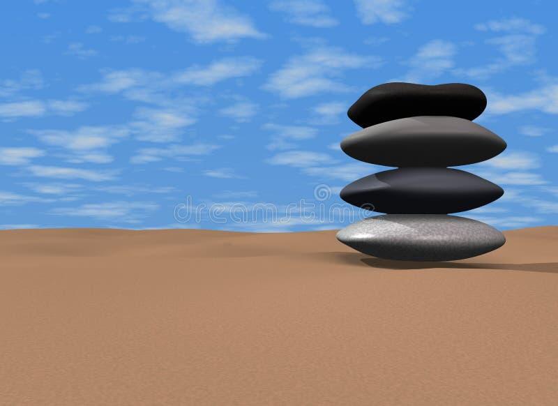 Zen stock abbildung