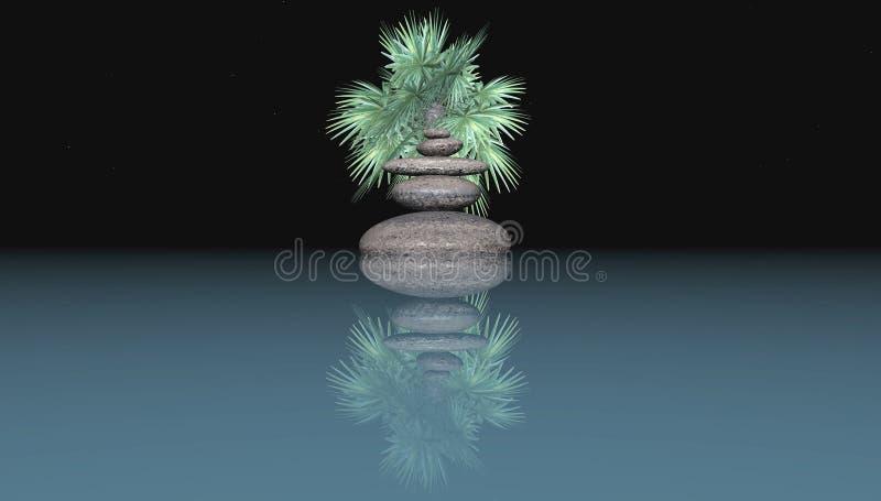 Zen illustration stock