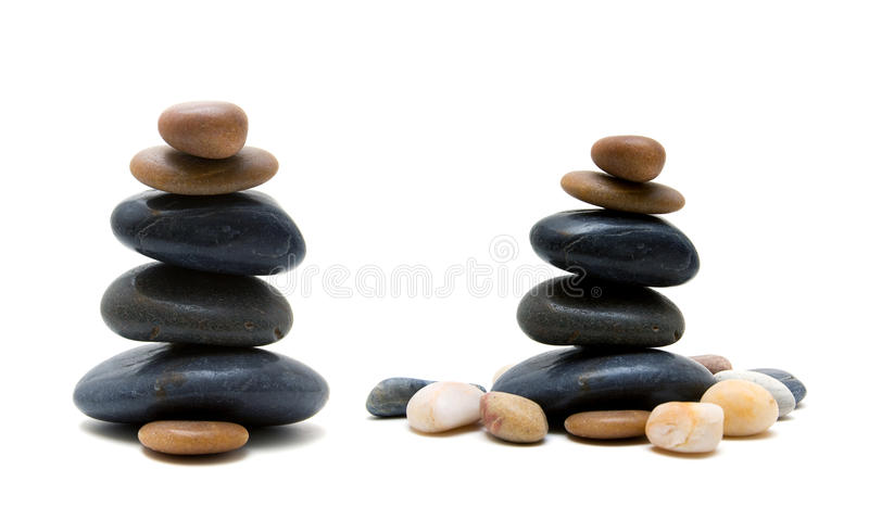 zen als stenen royalty-vrije stock afbeelding