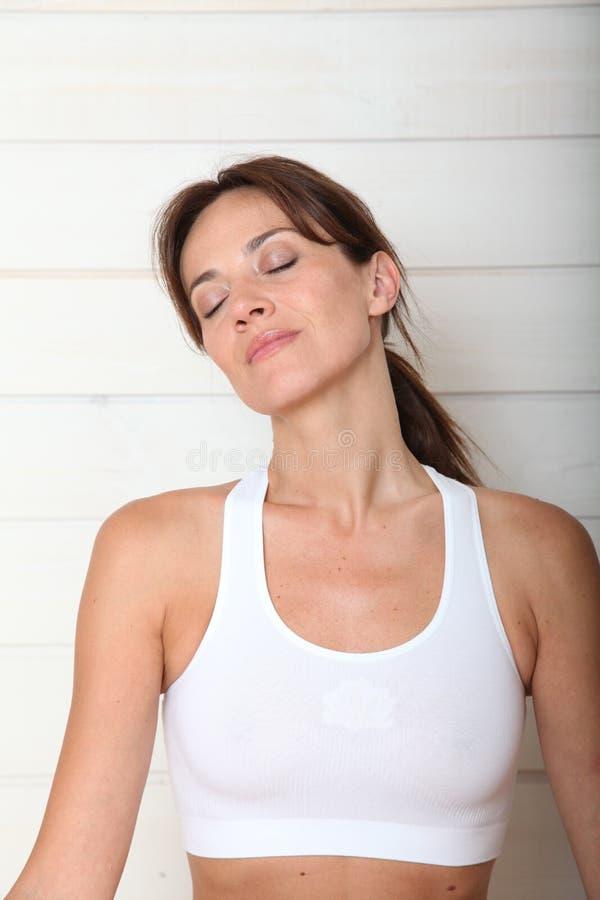 Zen attitude royalty free stock photography