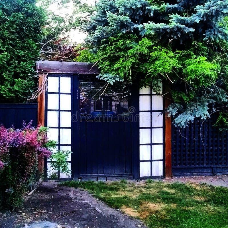 Zen Backyard fotos de stock royalty free