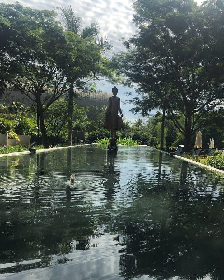 Zen Budda fotografía de archivo libre de regalías