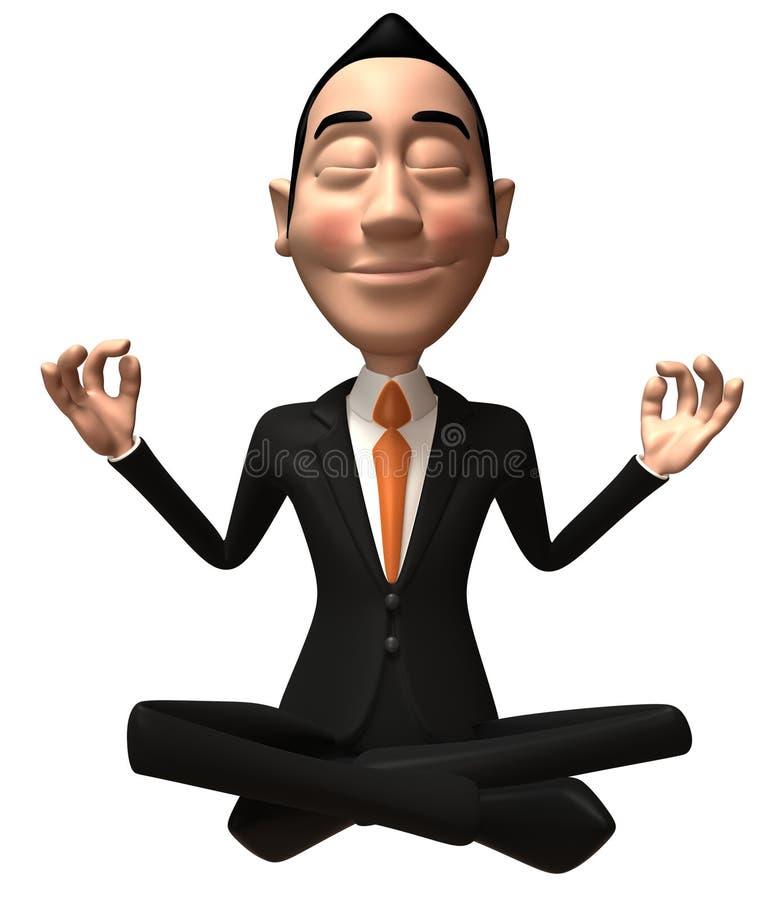 Zen Businessman Stock Photos