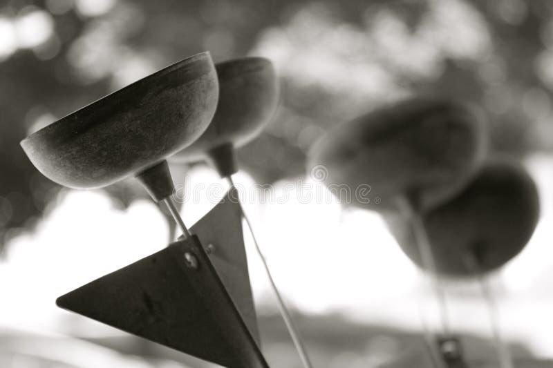 Zen Chimes fotografia stock