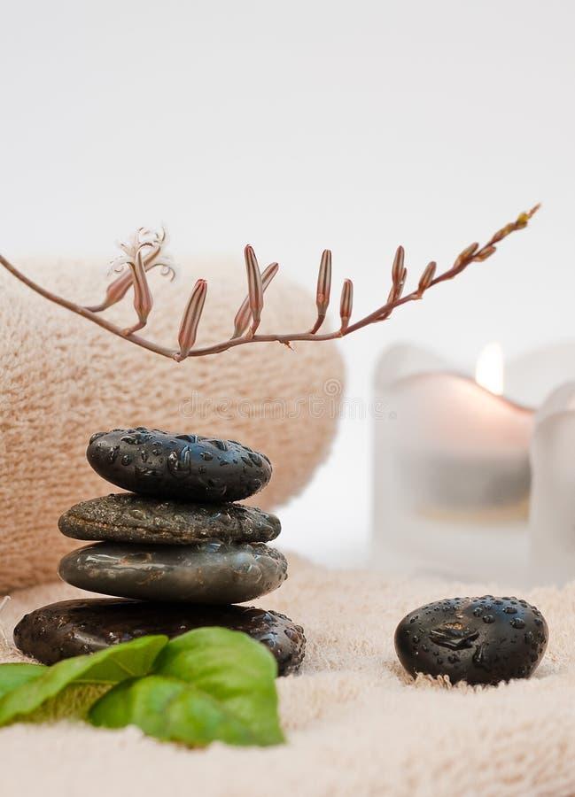Zen-come la STAZIONE TERMALE immagine stock libera da diritti