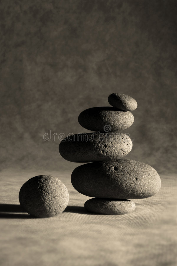 Zen complimenté images libres de droits