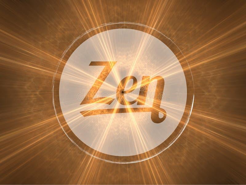 Zen vector illustration