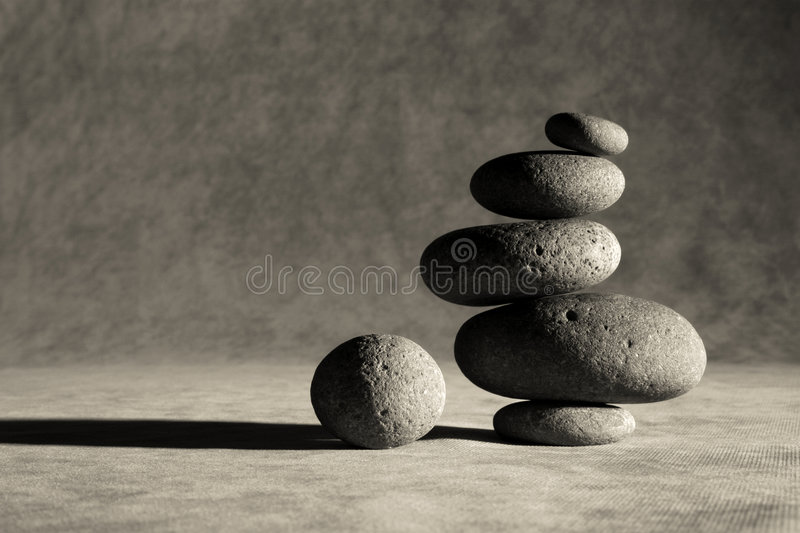 Zen corporativo immagine stock