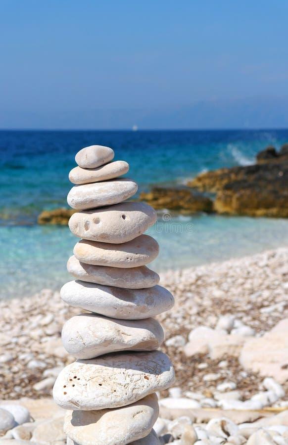 Zen in Croatia stock photo