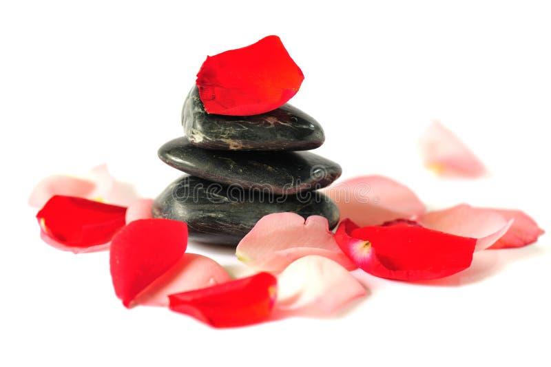 Zen de équilibrage 2 images libres de droits