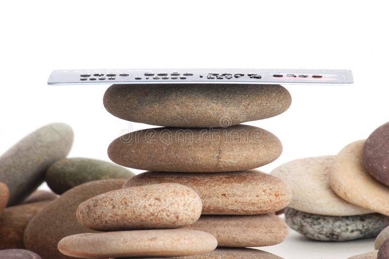 Zen di accreditamento (1) immagine stock libera da diritti