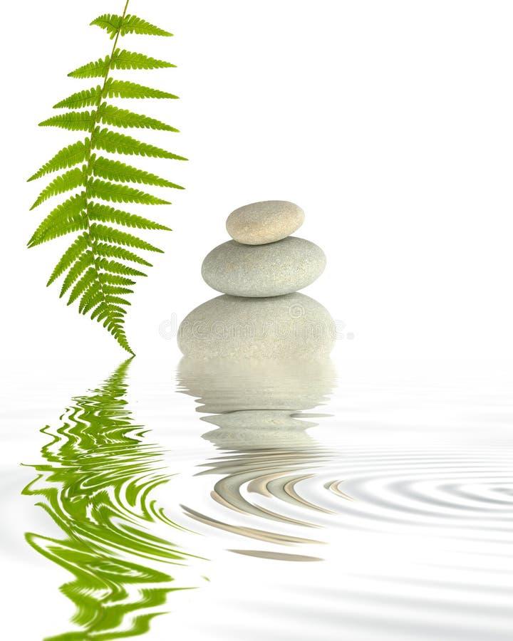 Zen-Elemente stockbild