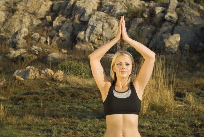 zen för kvinna för chiparktai royaltyfri bild