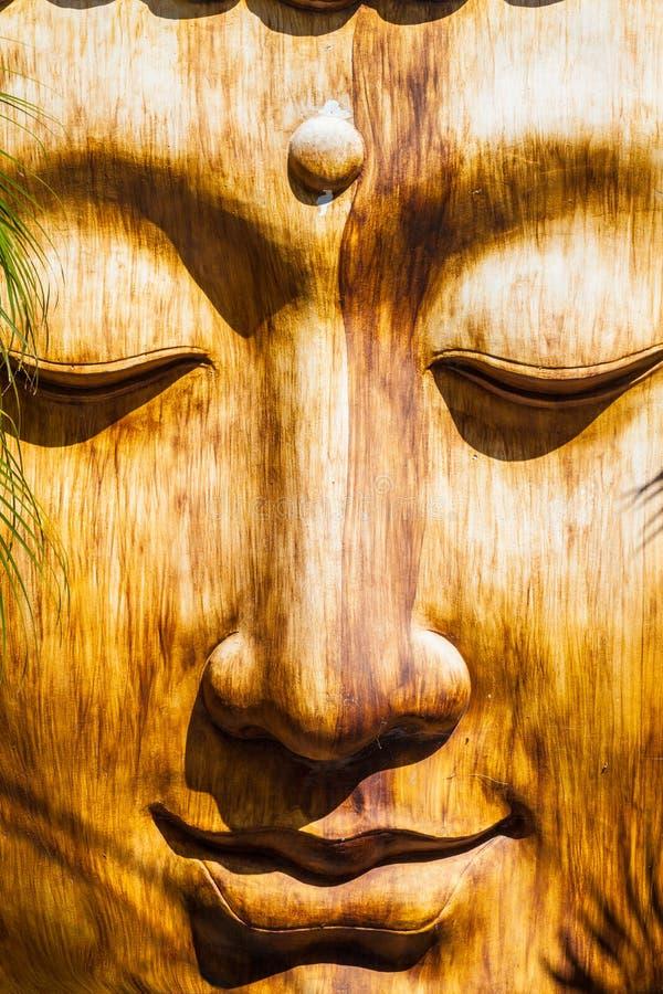 Zen Face royalty-vrije stock afbeelding