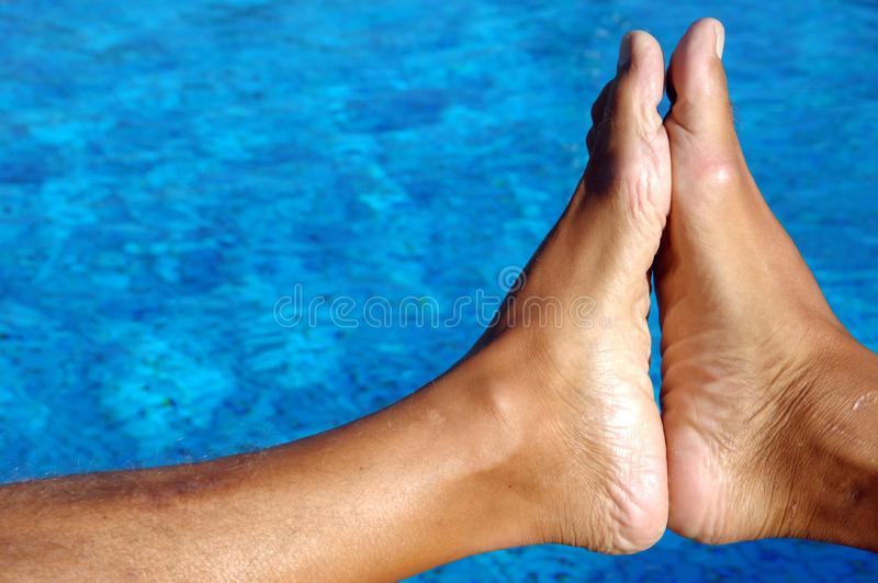 ZEN feet royalty free stock images
