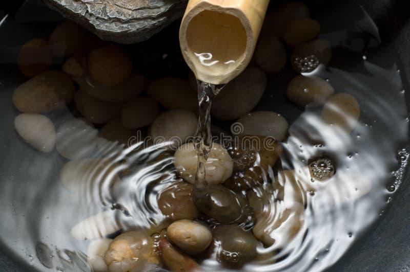 Zen funtain stock afbeeldingen