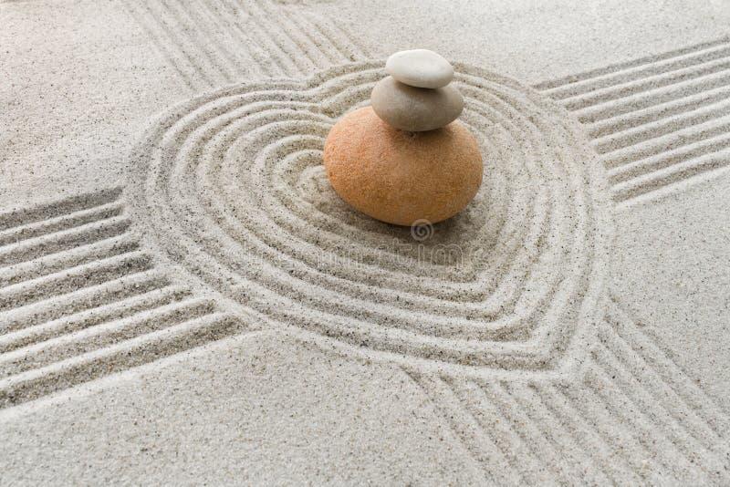 Download Zen garden stock image. Image of rocks, heart, simplicity - 10413053