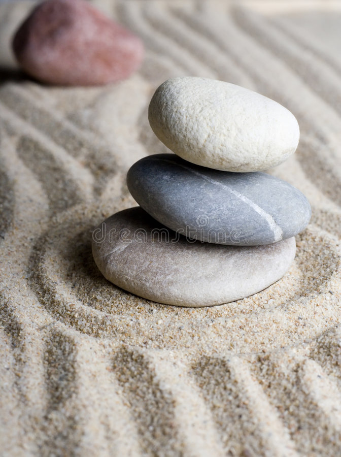 Free Zen Garden Royalty Free Stock Photography - 3433907