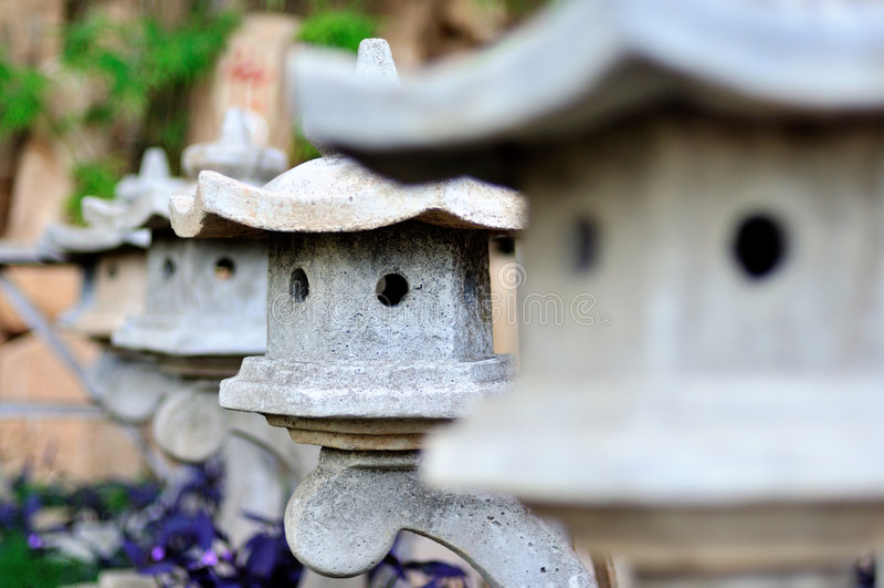 Zen Garden I royalty free stock image