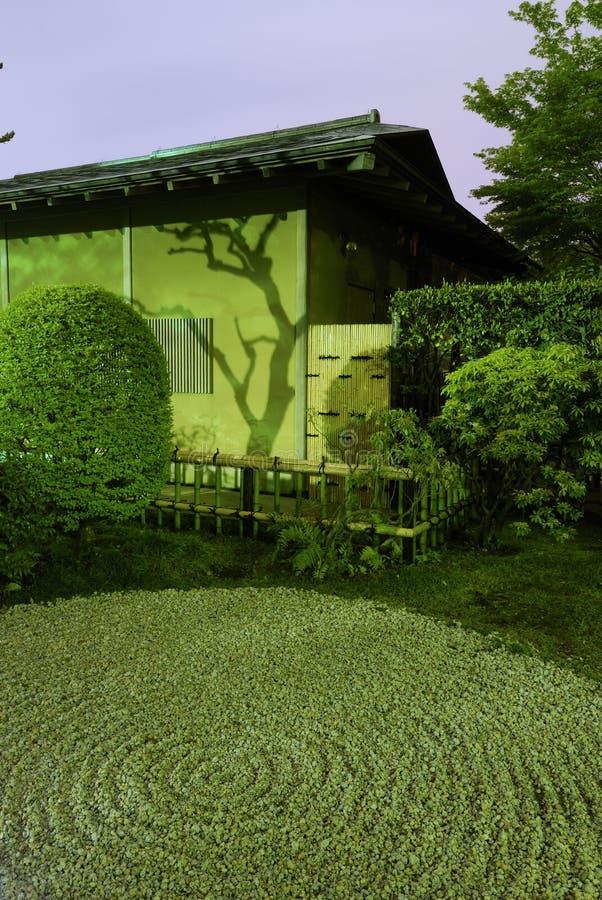 Download Zen-Garden night stock photo. Image of rural, bush, park - 7691298