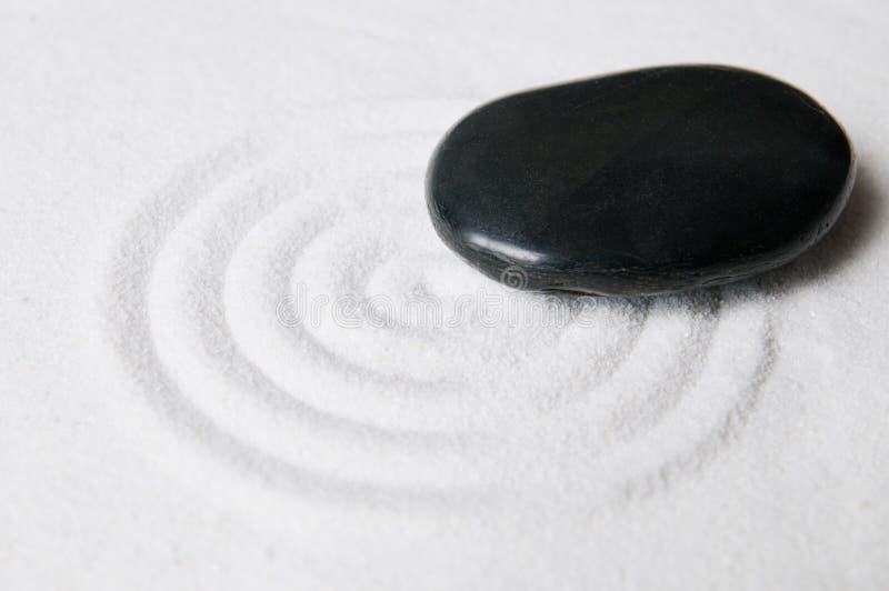 Download Zen garden with pebble stock photo. Image of black, beautiful - 7333798