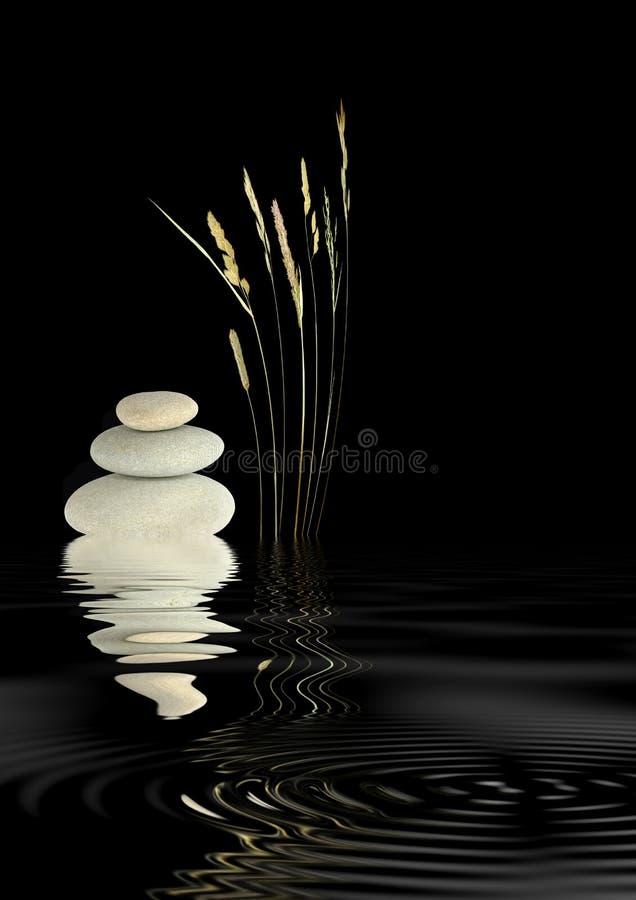 Zen-Harmonie stockfotos