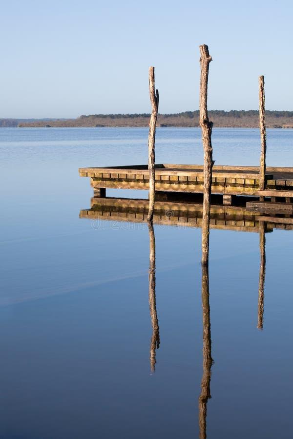 Zen jetty stock images