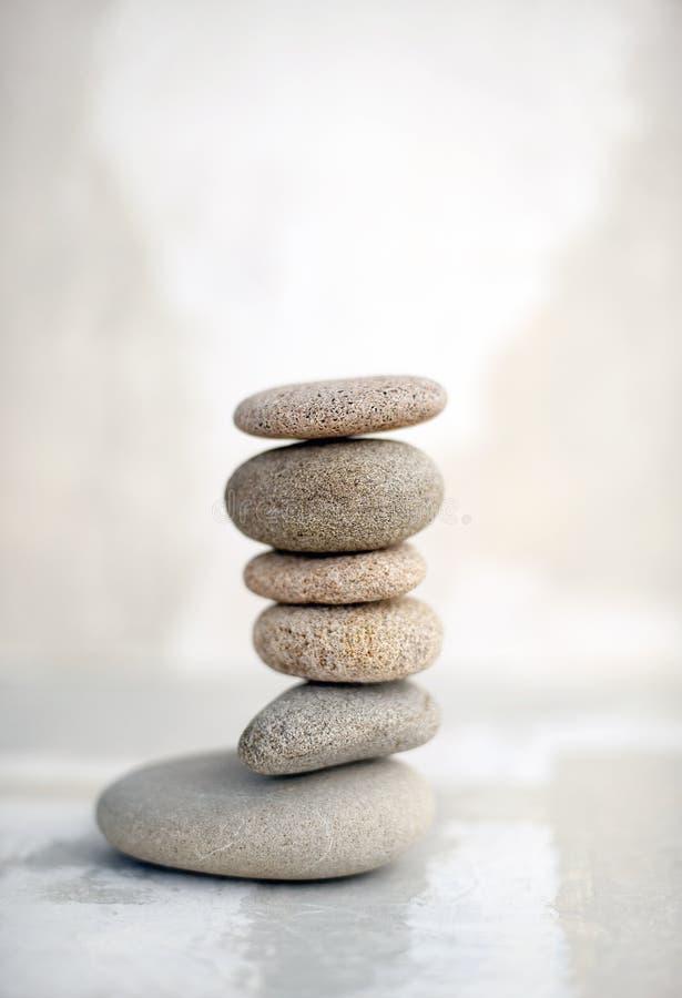 Zen kamienie fotografia royalty free