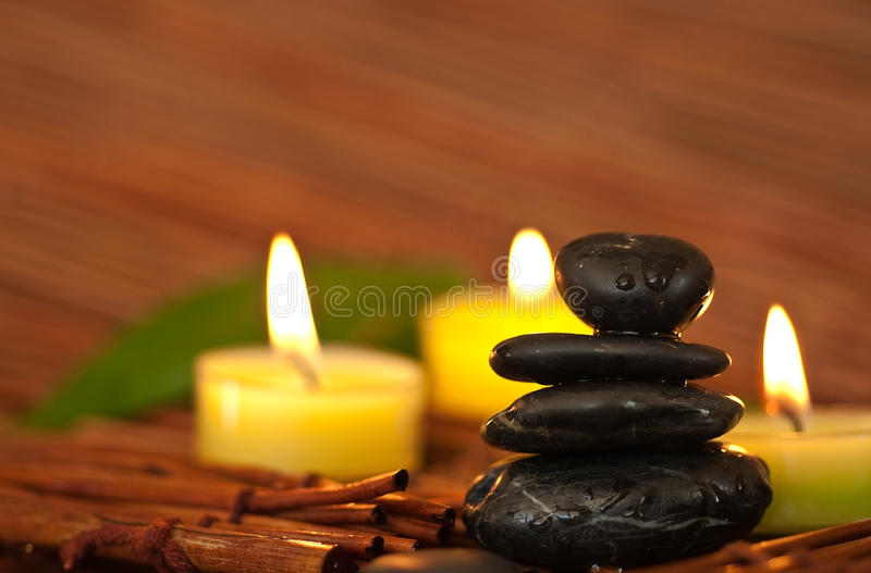 Zen-like SPA royalty free stock images