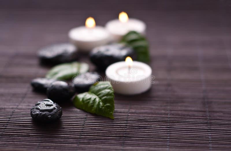 Zen-like spa stock image