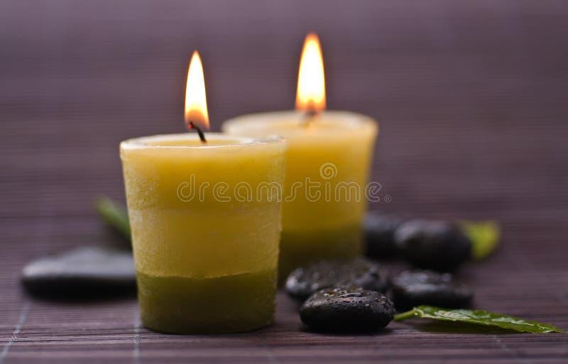 Zen-like spa stock foto