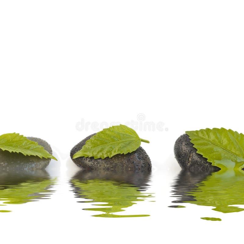 Zen mögen Badekurort lizenzfreie stockfotos