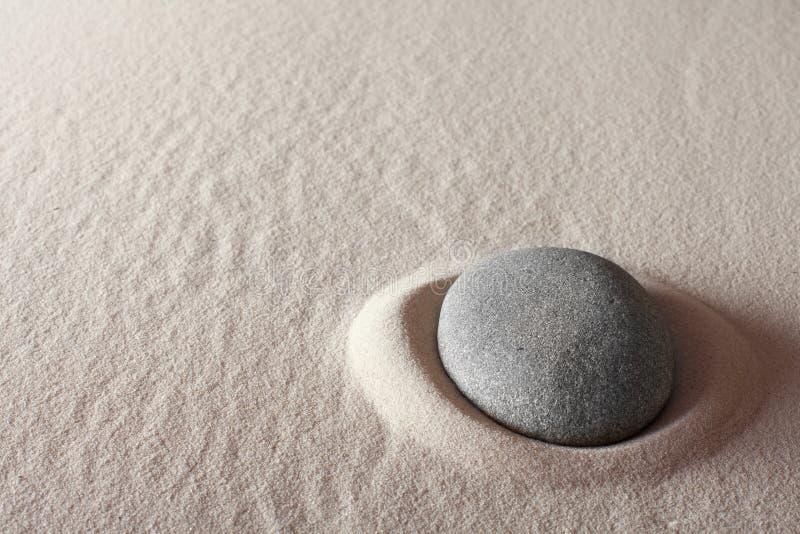 Zen meditation stone spa background