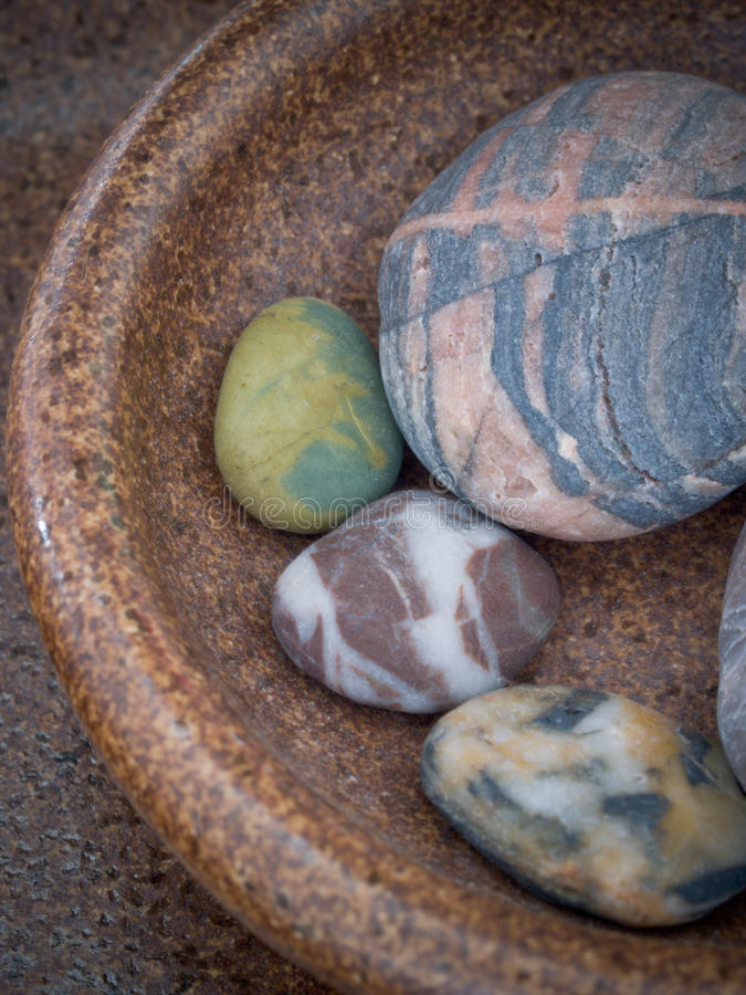 Zen Meditation Stones fotografie stock libere da diritti