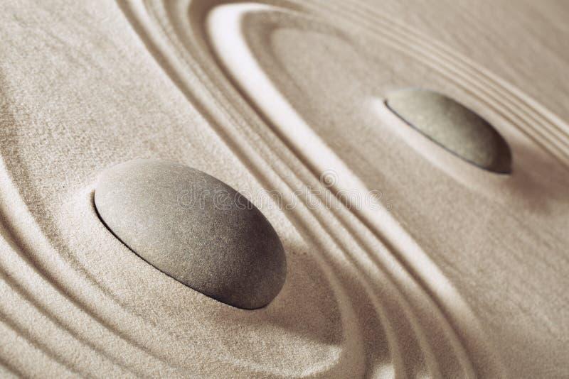 Zen Meditation Stones stockbild