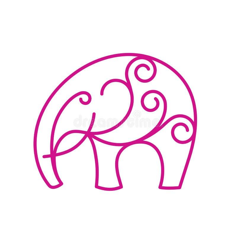 Zen medytaci mandala w projekta symbolu pojęcie ilustracja wektor