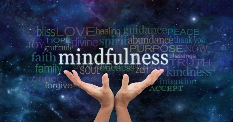 Zen Mindfulness Meditation royaltyfri bild