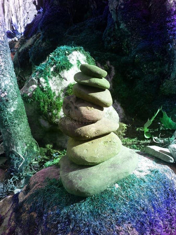 Zen in natura fotografia stock libera da diritti
