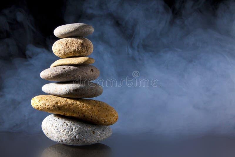 Zen nebbioso fotografie stock libere da diritti