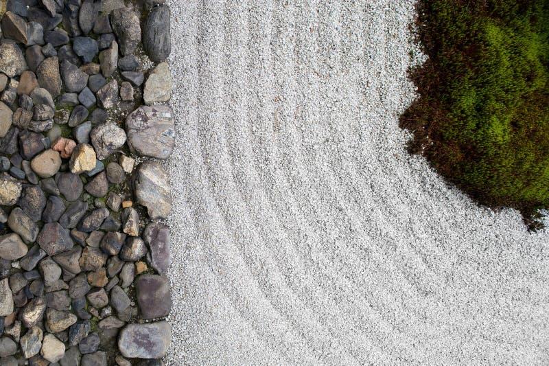 Zen ogród obraz stock